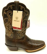 Ariat US 9.5 EU 41 Legend Western Cowgirl Rodeo Brown Womens Boots New