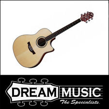 Crafter CR-AGE 300SP/N - Dreadnought Spruce Top Acoustic/Electric Guitar RRP$899