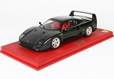 Ferrari F40 Nero Pastello BBR 1:18 no MR Looksmart !