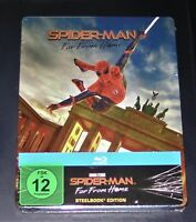 Spider Man Far Frome Accueil Limitée steelbook Édition blu ray Neuf & Ovp