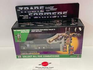 1986 Onslaught MIB Sealed Bubble Complete Unapplied Decals G1 Transformers