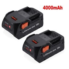2 Pack New!!! 18V 4.0Ah Lithium-Ion Battery for RIDGID R840087 R840085 R840083