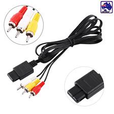 Audio AV RCA Cable Cord Adapter for Nintendo N64 NGC SFC Gamecube EVRC56364