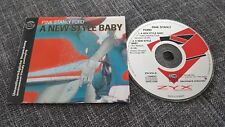 Rosa Stanly FORD. CD-Maxi a new style BABY 1991 House 2-tr ZYX CARDSLEEVE 6731-8