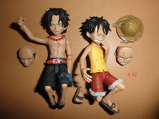 ONE PIECE anime CRY HEART 2 action figure combo BANPRESTO toy