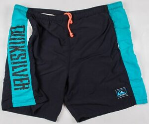 Vintage 1980's/1990's Quicksilver Surf USA Made Board Shorts Swim Trunks Size 32