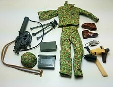 Military Uniform Weapons Accessories for 1/6 Scale Action Figure GI Joe Lot #614