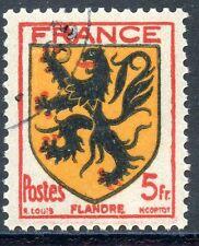 STAMP / TIMBRE FRANCE OBLITERE N° 602  BLASON / FLANDRE