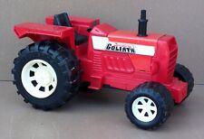 Tracteur JOUSTRA GOLIATH ancien jouet métal plastique vintage jeu old toy truck