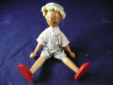 Wooden Made In Poland Doll 7""