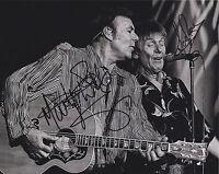 Marty Wilde & Joe Brown HAND SIGNED 8x10 Photo, Autograph, Rock n Roll Stars