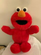 Original Tickle Me Elmo Vintage 1995 Talking Plush Stuffed Toy Tyco Jim Henson