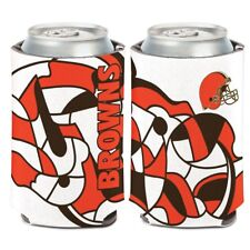 Cleveland Browns Wincraft Nfl Xfit 12oz Can Coolie Free Ship