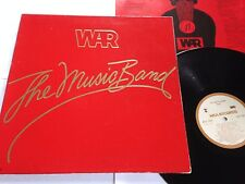"WAR The Music Band VINYL 12"" 1979 Original Record MCA 3085 GATEFOLD Disco LP"