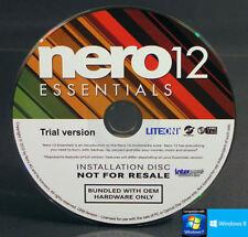 Nero 12 Essentials CD/DVD Brennsoftware OVP NEU