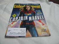 """""""Brie Larson is Captain Marvel"""" Entertainment Weekly Cover 09-14-18"""