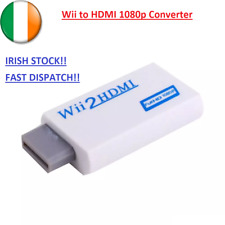 Wii To Hdmi Adapter Wii2hdmi 1080p Converter 3.5mm Audio Video Full HD Wii HDTV