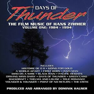 Days of Thunder: The Film Music of Hans Zimmer: Volume 1: 1984-1994 CD NEW