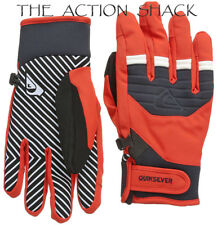D12 • Quiksilver Method Gloves • NWT Mens XL Fiery Red • #28324