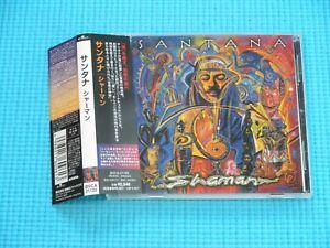 SANTANA Promo CD Shaman 2002 OOP CD Japan BVCA-21122 OBI