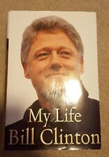 """BILL CLINTON SIGNED HARDCOVER BOOK """"MY LIFE"""" 1ST EDITION 42 PRESIDENT COA PROOF"""