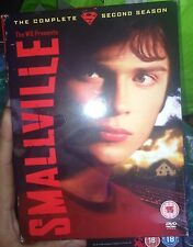 Smallville: The Complete Second Season DVD Box Set In Very Good Condition