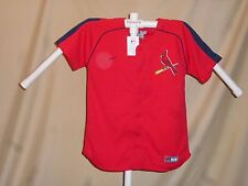 ST. LOUIS CARDINALS Team Nike JERSEY  Youth Large  NWT red  $50 retail