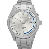 Seiko SKA717P1 100m Gents Stainless Steel Date Kinetic Watch RRP £249.00