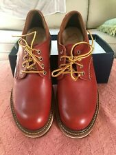 Red Wing Heritage 8001 Work Oxford Russet Portage - Red - 8D - New W/o Box