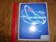 2002 Toyota Camry Corola Matrix Venza Avalon Prius Sienna Sequoia Sales Brochure