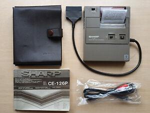 SHARP CE-126P Printer and Cassette Interface, Drucker f. PC Pocket Computer #761
