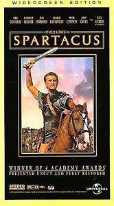Spartacus (VHS, 1997, 30th Anniversary Restored Version - Widescreen)