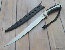 """BROWNING """"WHITE WATER"""" FILLET KNIFE WITH HARD SHEATH - 14.25 INCH OVERALL LENGTH"""