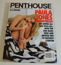 PENTHOUSE 12/2000 PAULA JONES THE WAR AGAINST HOMBRE HANK WILLAIMS 3. PH88