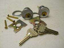 Locksmith -LOT of 2 - GOAL Rim Cylinders KA, 626, SC1 Keyway  Practice