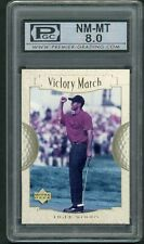 2001 Upper Deck Victory March Tiger Woods Rookie Rc #151 PGC 8 PSA?