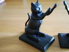 Cast Iron Cat Door Stop Stopper