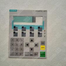 1PCS New membrane keypad for Siemens OP7 6AV3607-1JC20-0AX1