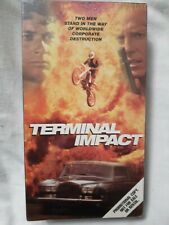 Terminal Impact VHS 1996 RARE (OOP) Out Of Print SCREENER COPY Brand NEW SEALED