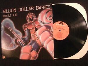 Billion Dollar Babies - Battle Axe - 1977 Vinyl 12'' Lp./ VG+/ Prog Hard Rock