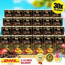 Gano Excel Cafe 3 in 1 Coffee x 30 boxes Ganoderma Reishi Halal DHL EXPRESS
