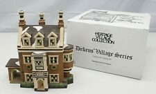 Department 56 Dickens Village Series Dursley Manor 58329 1995 in Box ~No Light