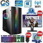Fast Gaming Pc Computer Bundle Intel Quad Core I5 8gb 1tb 2gb Gt710 Win10 Beam