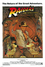 #Z101 Indiana Jones Raiders Lost Ark Movie Poster 24X36