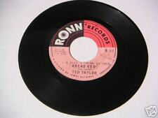Ted Taylor Bread Box 45rpm Northern Soul
