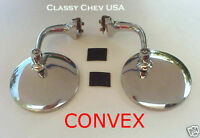 """CONVEX 4"""" PEEP mirrors SS  NEW FREE SHIPPING one PAIR"""