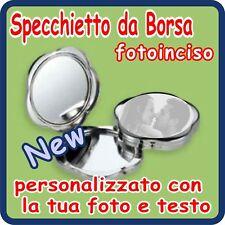 SPECCHIETTO Nuvola Silver Plated PERSONALIZZATO!!!