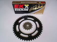 BMW F650 GS DAKAR NEW 15/47 SPROCKET & EK SRO6 O-RING CHAIN SET KIT 1999 - 2005
