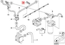 Genuine Engine Hose Clamp BMW X5 X6 E23 E24 E28 E38 E39 E53 E65 E66 11721708656