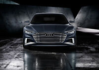 AUDI PROLOGUE AVANT FRONT VIEW NEW A3 CANVAS GICLEE ART PRINT POSTER
